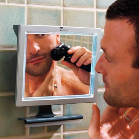 Merveilleux Fogless Shower Mirror