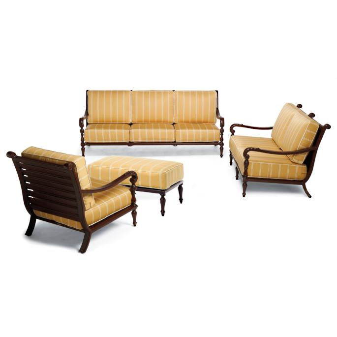 Swell British Colonial 4 Pc Sofa Set Frontgate Ibusinesslaw Wood Chair Design Ideas Ibusinesslaworg