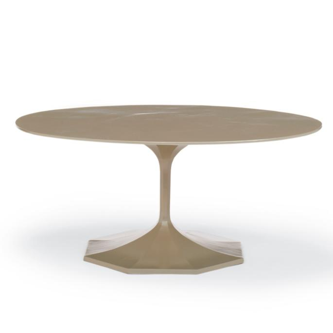 Milano Oval Coffee Table Frontgate