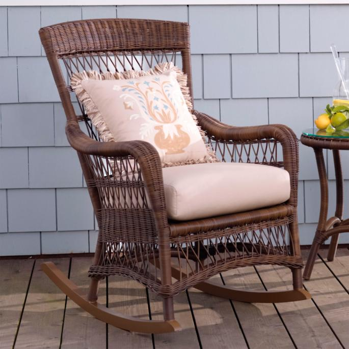 Providence Rocking Chair With Cushion Frontgate