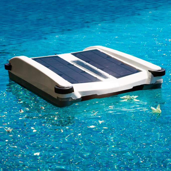 Robotic Solar Breeze Pool Skimmer Frontgate