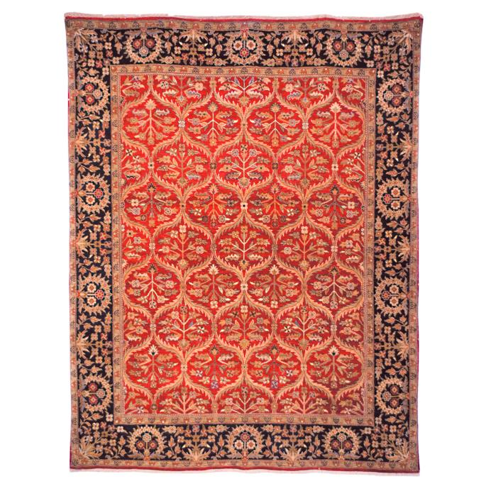 Trumbull Wool Area Rug | Frontgate