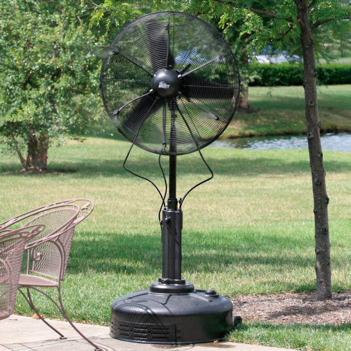 Commercial Dry Misting Fan Frontgate