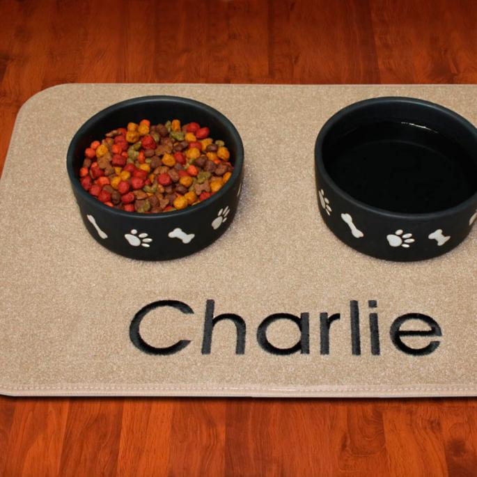 Embroidered Pet Placemat Frontgate