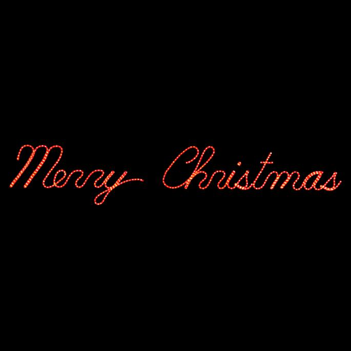 Christmas Lighted Sign.Merry Christmas Led Lighted Sign Frontgate