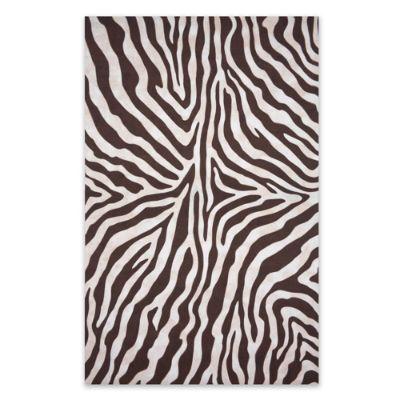 Zebra Print Outdoor Rug Frontgate