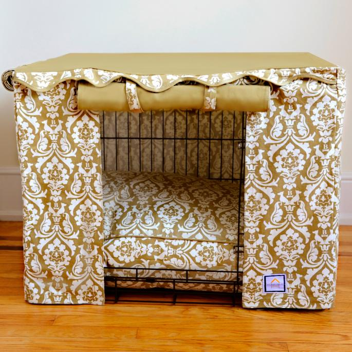 Damask Crate Cover And Pet Bed Frontgate