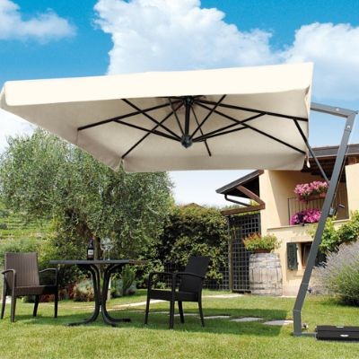 Side Arm Umbrella With Base Frontgate