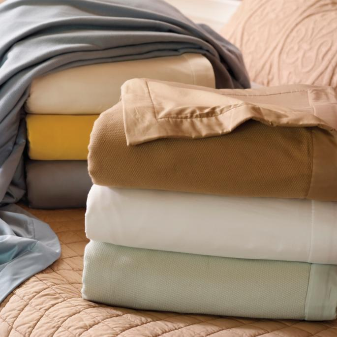 Resort Sheeting Blanket Frontgate