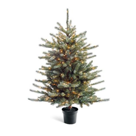 tabletop colorado blue spruce artificial christmas tree - Blue Spruce Artificial Christmas Tree