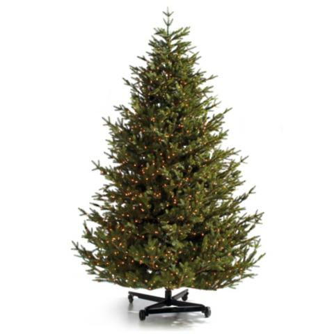 eastern fraser fir christmas tree with fliptree stand storage bag