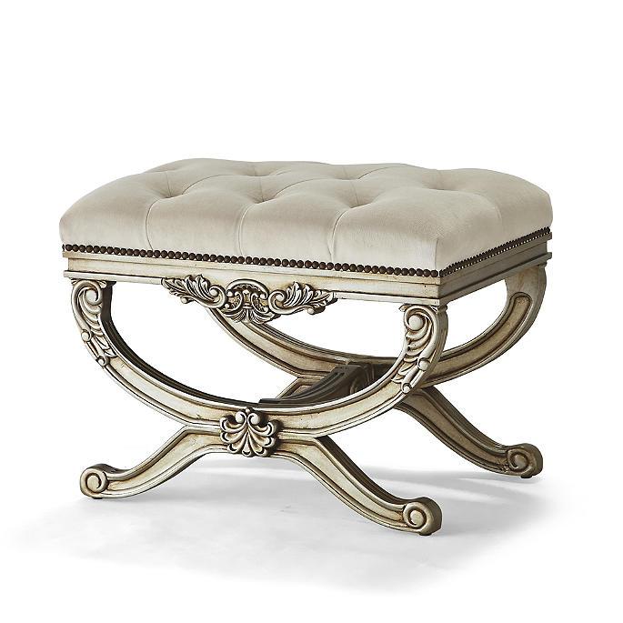 Cool Lourdes Tufted Bench Dailytribune Chair Design For Home Dailytribuneorg