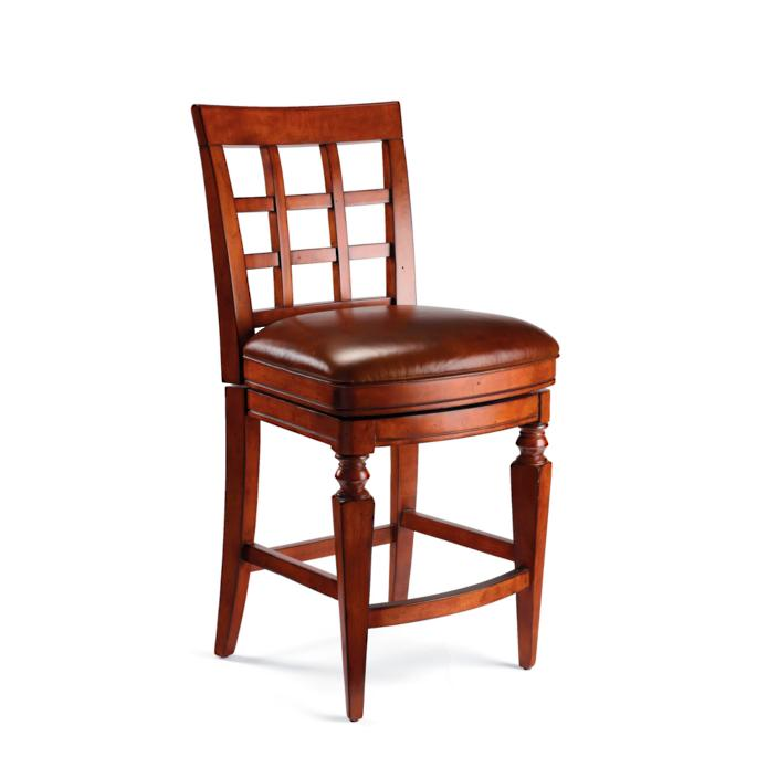 Magnificent Napa Swivel Counter Height Bar Stool 25 3 4H Seat Frontgate Caraccident5 Cool Chair Designs And Ideas Caraccident5Info