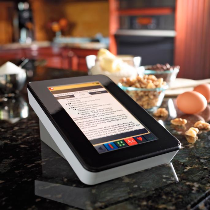 Cordless Digital Recipe Reader With Wi Fi Frontgate