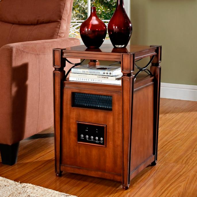 Portable Decorative Infrared Space Heater Frontgate