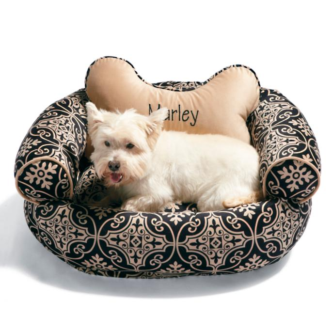 Valencia Fabric Comfy Couch Pet Bed Frontgate