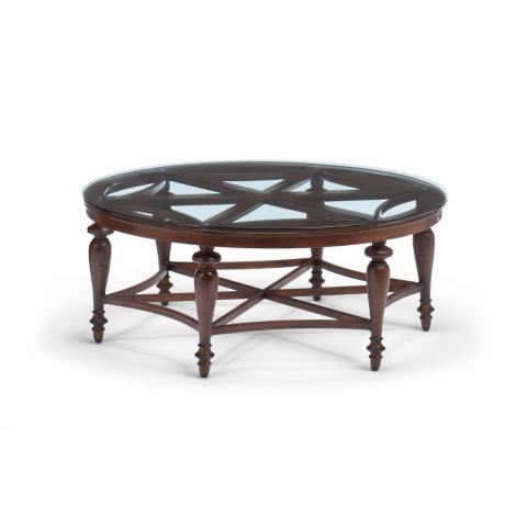 Anderson Round Coffee Table Frontgate - Anderson round table