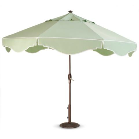 Royal Celadon Umbrella Frontgate