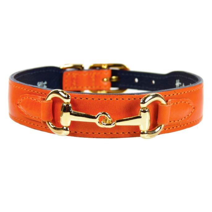 e43ed0694 Hartman and Rose Links Dog Collar | Frontgate