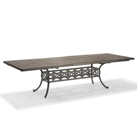 Carlisle Extending Casttop Dining Table In Slate Finish Frontgate - Carlisle dining table