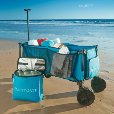Foldable Beach Wagon Frontgate
