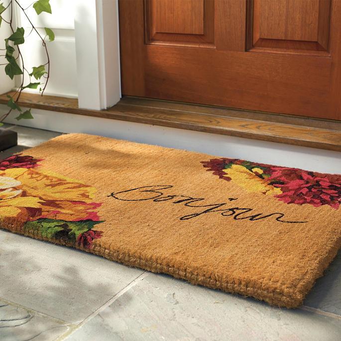 Autumn Bonjour Coco Door Mat Frontgate