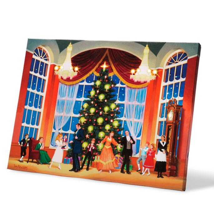Nutcracker Ballroom Display Illuminart With Easel Frontgate