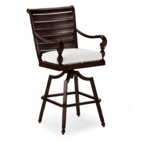 British Colonial Bar Height Seating Frontgate