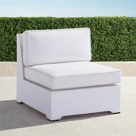 Palermo S/2 Center Chairs with Cushions in White