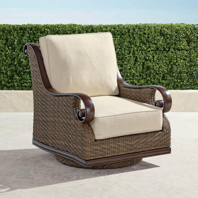 Cool St Martin Swivel Lounge Chair With Cushions Gmtry Best Dining Table And Chair Ideas Images Gmtryco