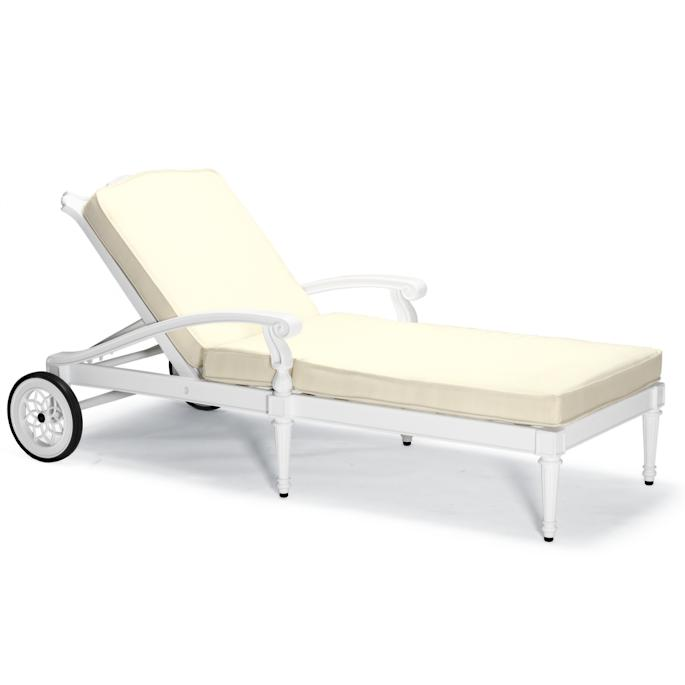 Prime Glen Isle Chaise Lounge With Cushions In White Finish Pdpeps Interior Chair Design Pdpepsorg