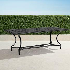 Grayson Rectangular Dining Table in Black Finish