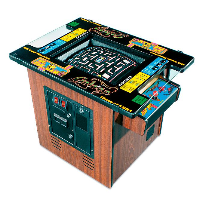 Pacman Table Game >> Ms Pacman Galaga Table Arcade Game Frontgate