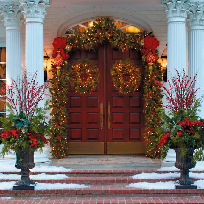Christmas Topiary.Christmas Topiary Frontgate