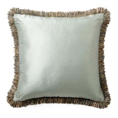 Silk Decorative Pillow With Fringe Frontgate