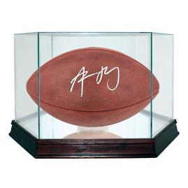 Aaron Rodgers Autographed Super Bowl XLV Football