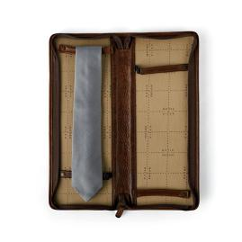 Evans Leather Tie Case by Moore and Giles