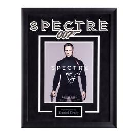 Daniel Craig Signed James Bond Spectre Movie Poster