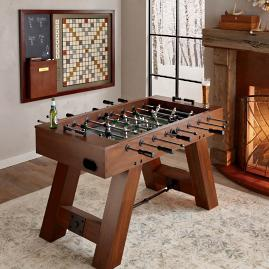 Reno Rustic Antique Walnut Pool Table By Imperial Frontgate - Reno pool table