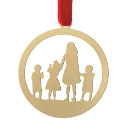 Le Papier Studio Four Silhouette Ornament