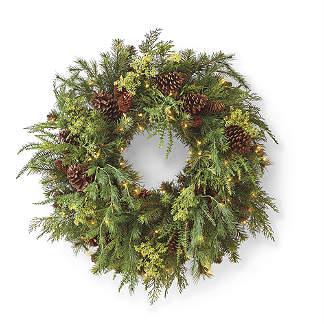Asheville Estate Cordless Wreath