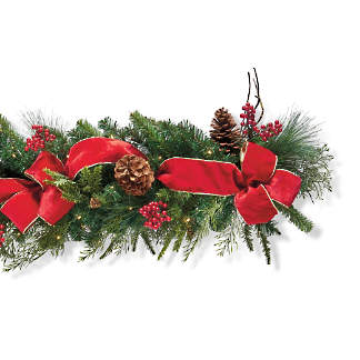 Wreaths Garlands Christmas Greenery Frontgate