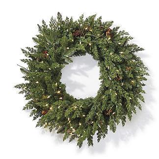 "Majestic 30"" Cordless Wreath"