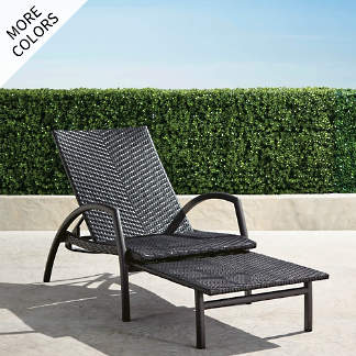 monterey convertible chaise - Chaise Metal