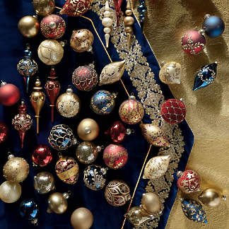 grand regency 60 pc ornament collection