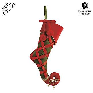 press enter to change carousel image1 - Velvet Christmas Stockings