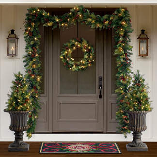 Outdoor Christmas Decor And Lighted Displays Frontgate