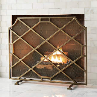 Incredible Luxury Fireplace Screens Fireplace Tools Hearth Rugs Home Remodeling Inspirations Genioncuboardxyz