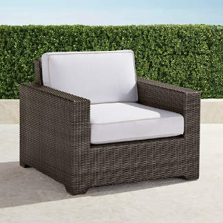3b5bff0590c6 Palermo Lounge Chair with Cushions in Bronze Finish