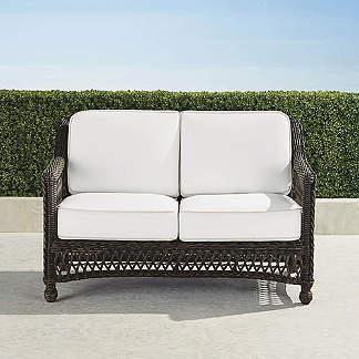 Astonishing Outdoor Loveseats Frontgate Uwap Interior Chair Design Uwaporg